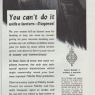 """1942 The Fidelity and Casualty Company Ad """"You can't do it"""""""