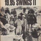 "1967 Polaroid Ad ""19.95 Swings It"""