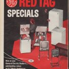 "1967 General Electric Ad ""Red Tag Specials"""