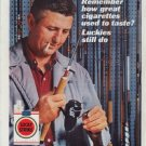 """1962 Lucky Strike Ad """"Remember how great ..."""""""