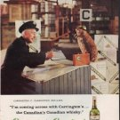 "1959 Carrington's Canadian Ad ""I'm coming across with Carrington's"""