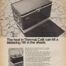 """1968 Coleman Ad """"Thermal, Calif."""""""