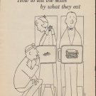 """1957 Ladies' Home Journal Ad """"How to tell the sexes"""""""