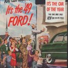 "1948 Ford Ad ""It's the '49 Ford"""