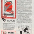 "1948 Hastings Piston Rings Ad ""Performance Spot Check"""