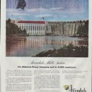 """1948 Avondale Mills Ad """"Chief Red Eagle"""""""