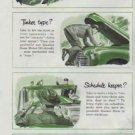 "1948 Quaker State Ad ""What kind of driver are you?"""