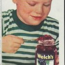 "1948 Welch's Ad ""for PURE enjoyment"""