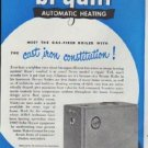 """1948 Bryant Automatic Heating Ad """"forget it for YEARS to come"""""""
