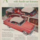 """1954 Ford Ad """"America's lowest priced cars"""""""