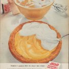 "1954 Jell-O Ad ""Perfect Lemon Pies"""
