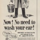 """1954 BODYSHEEN Ad """"No need to wash your car!"""""""