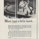 "1954 Dictograph Ad ""Mary had a little lamb ..."""