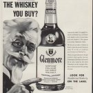 "1954 Glenmore Whiskey Ad ""Who Makes The Whiskey You Buy?"""