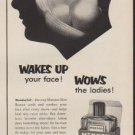 "1953 Mennen Ad ""Wakes Up your face!"""