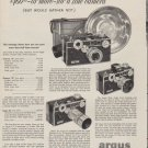 """1953 Argus Ad """"the man who can afford to spend"""""""
