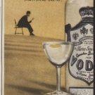 """1953 Smirnoff Vodka Ad """"marvelous taste"""""""