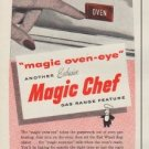 "1953 Magic Chef Ad ""You see the Light"""