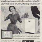 """1953 Maytag Ad """"everthing washable"""""""
