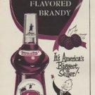 "1953 Arrow Brandy Ad ""Blackberry Flavored Brandy"""