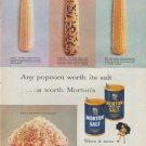 "1953 Morton Salt Ad ""Any popcorn"""