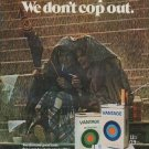 "1971 Vantage Cigarettes Ad ""You don't cop out"""