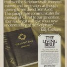"1971 Doubleday Ad ""The Living Bible"""