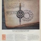 "1971 Parker Pens Ad ""Leonardo da Vinci"""