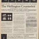 "1971 Wellington Jewels Ad ""The Wellington Counterfeit"""