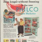 "1957 Philco Ad ""Keep meat fresh"""