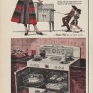 """1952 Magic Chef Ad """"Outlaw your old stove"""""""