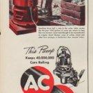 """1952 AC Fuel Pumps Ad """"This Pump"""""""