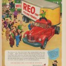 """1952 REO Motors Ad """"REO for Pulling Power!"""""""