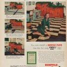 """1952 Kentile Floor Ad """"Mrs. Richard Lansing"""""""