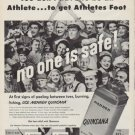 "1951 Quinsana Ad ""You don't have to be an Athlete"""
