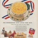 "1951 Campbell's Ad ""Six Generations"""