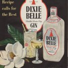 """1951 Dixie Belle Ad """"When the Recipe calls for the Best"""""""