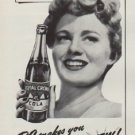 "1951 Royal Crown Cola Ad ""makes you feel"""