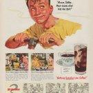 "1951 Pan-American Coffee Bureau Ad ""Mom knows"""