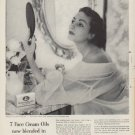 "1953 Woodbury Soap Ad ""7 Face Cream Oils"""