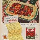 "1953 Hunt's Tomato Sauce Ad ""Lamb Stew"""