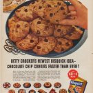 "1953 Bisquick Ad ""Chocolate Chip Cookies"""