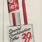"1953 Tek Ad ""Special Combination"""