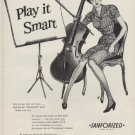 "1953 Sanforized Ad ""Play it Smart"""
