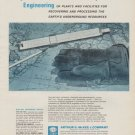 "1963 Arthur G. McKee & Company Ad ""Specialized ... World-wide"""