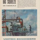 """1963 United Engineers Ad """"Big Squeeze"""""""