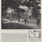 "1963 American Electric Power System Ad ""Typical campus scene"""