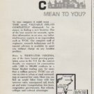 """1963 Tidewater Virginia Development Council Ad """"What Does TVDC Mean To You?"""""""