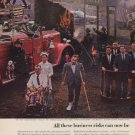 """1963 The Continental Insurance Companies Ad """"business risks"""""""