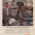 "1963 Norfolk and Western Ad ""Who built a new railroad"""